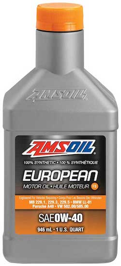 SAE 0W-40 FS Synthetic European Motor Oil